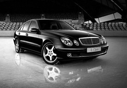 Heathrow Executive Mercedes E-Class Graphic